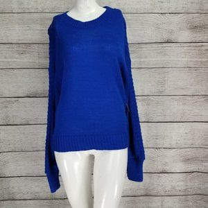 NWT Abound XS Crew Neck Pullover Sweater Blue